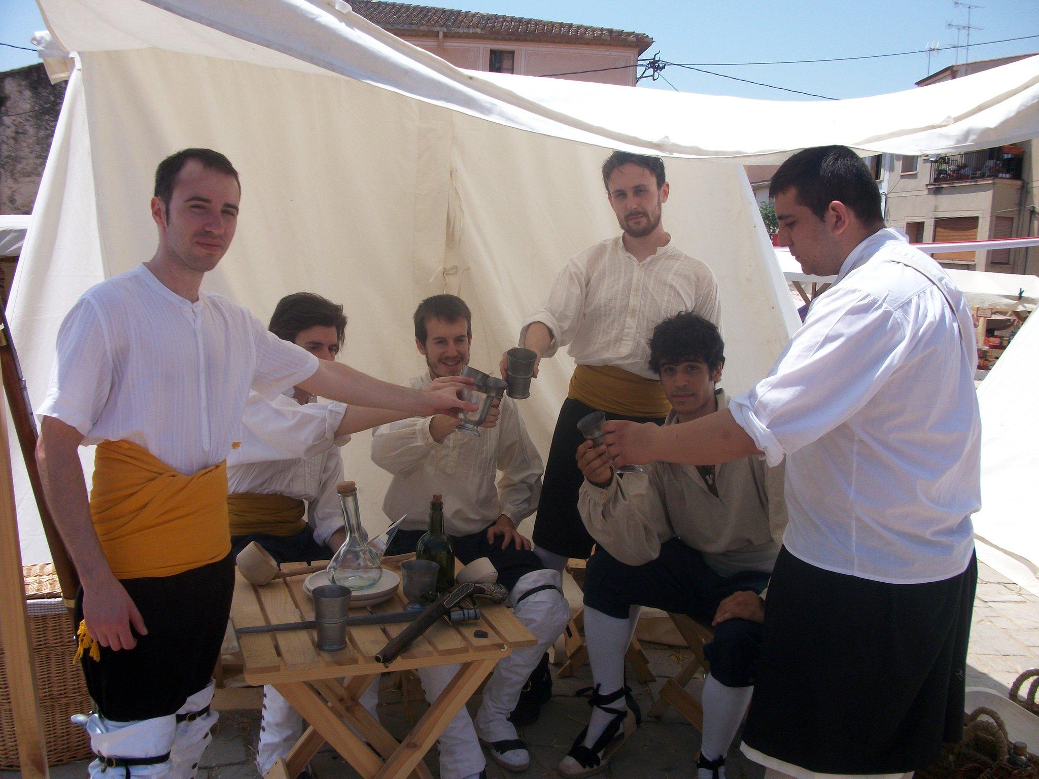 Miquelets valencians al campament històric