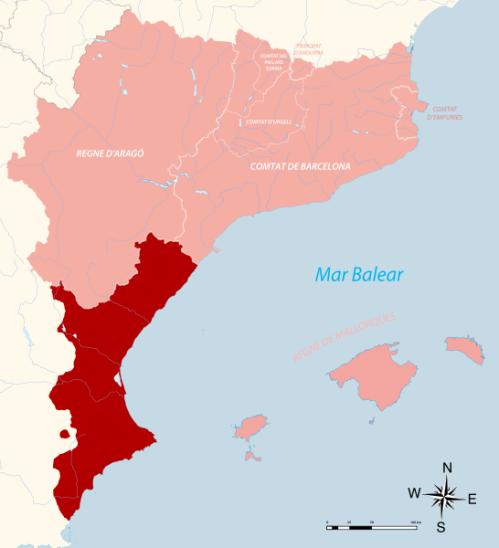 El Regne de València i la Corona Catalano-Aragonesa a la península