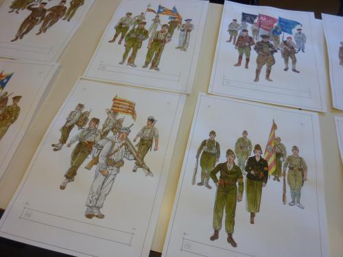 Batalló Pirinenc, milicies del POUM, Columna Macià Companys... estan gairebé tots!